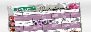 Gartenkalender Pflegetipps, Pflanztipps