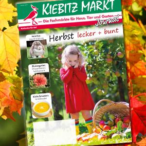 Kiebitzmarkt Journal Herbst