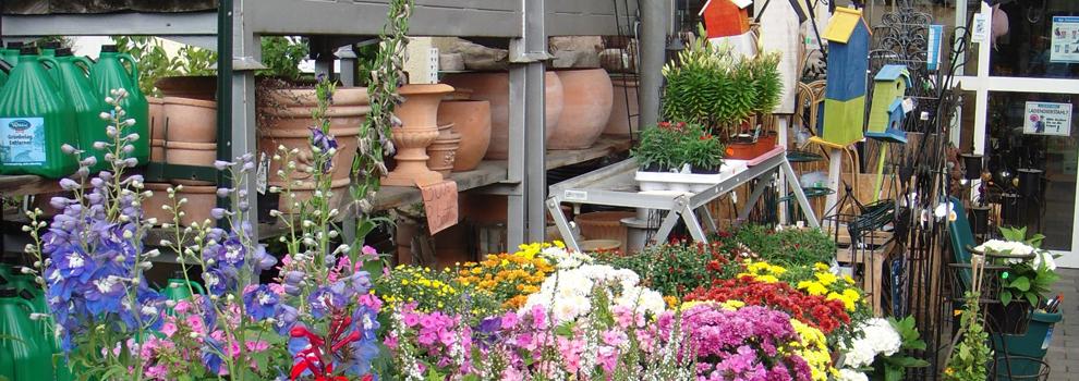 Gartensortiment im Kiebitzmarkt Scheibel in Ober-Mörlen