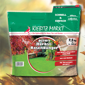 Kiebitzmarkt Herbstrasendünger