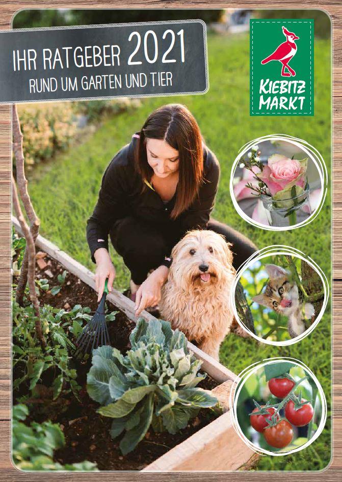 Kiebitzmarkt Garten- und Tierkatalog 2021
